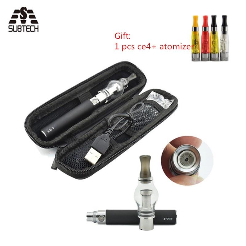 e-cigarettes kit ego 650/900/1100 battery with Bulb atomizer hookah pen vape kit electornic cigarette vapor