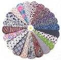 Envío 10 par/lote moda mezclado mujer SEXY Leopard Print ocio conveniente para calcetines transpirables para mujeres