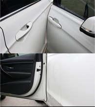 Стайлинг автомобиля стикер для защиты от царапин на двери Защитная