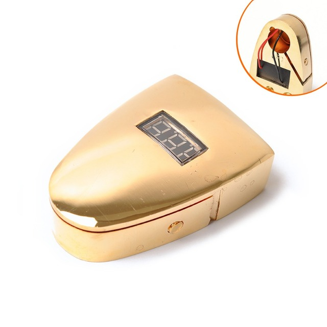 New Arrival Gold Plated Car Battery Terminal Positive Nagative F 0/1 2 4 8 AWG Tool LED digital display Car battery terminal