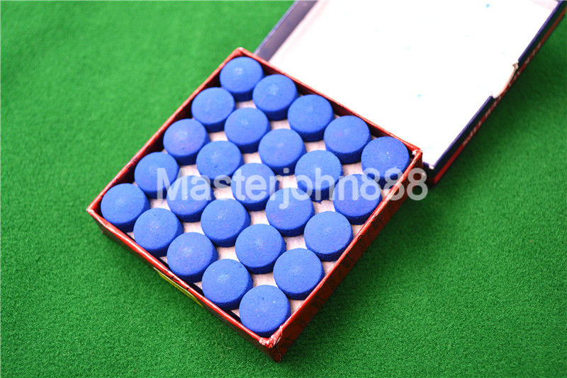 50pcs Glue-on Pool Billiards Snooker Cue Tips 13mm Free Shipping Wholesales