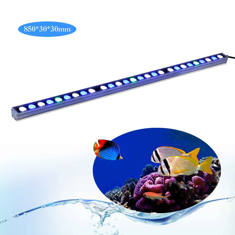 5pcs/lot 81W IP65 Waterproof LED aquarium light bar hard strip lamp for reef coral growth/plant freshwater fish tank lighting женские блузки и рубашки summer blouse blusas femininas 2015 roupas s