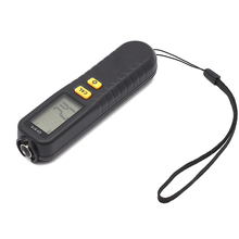 GY910 Digital Coating Thickness Gauge 1 micron/0-1300 Car Paint Film Thickness Tester Meter Measuring FE/NFE Russian Manual