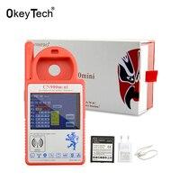 OkeyTech CN900 Red Auto Car Transponder Key Programmer English Language CN900mini Testing Remote Key Copy 4C/46/48/4D G Chip