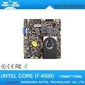 Nueva llegada lr-i7h45t baja potencia placa base cpu core i7-4500 dual core 1.8g con hdmi vga thin mini itx mainboard