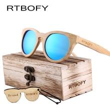 RTBOFY 2017 Wood Sunglasses Women Brand Designer Cat Eye Bamboo Sunglasses Mirror Sun Glasses Oculos Masculino Handmade Eyewear