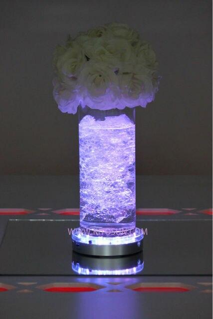 30 Pieceslot Wholesale Led Vase Uplighter Wedding Party Decoration