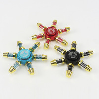 New Coming Wholesale 20Pcs Lot DHL Shipping FQ777 High Grade Hexagonal Hand Spinner Focus Toys Alloy