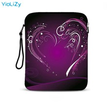 print waterproof 9.7 inch laptop PC bag Shockproof notebook sleeve smart tablet protective Case PC Cover For iPad Air 2 IP-3134 protective nylon soft case sleeve bag w strap for ipad tablet pc blue