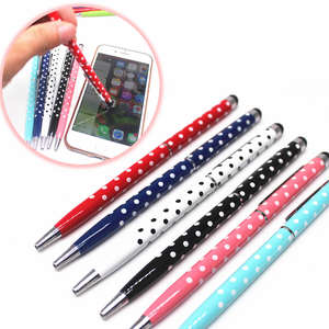 Top 10 ballpoint pen with touch pen brands 07mm refill ball point pen black 1 pcssell touch pen oily gumiabroncs Images