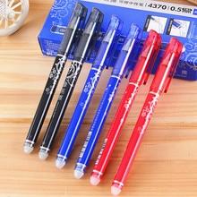 Erasable Pen Office Stationery Gel Pen Blue /Black /Red Magic Erasable Pen 0.5 Gel Pen School Supplies Student Exam Spare 1 Pcs