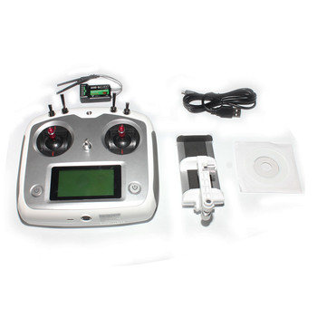 Flysky FS-i6S 2.4G 10CH AFHDS Touch Screen Transmitter + FS-iA6B 6CH Receiver + Mobile Holder Self Center Throttle Model F17906