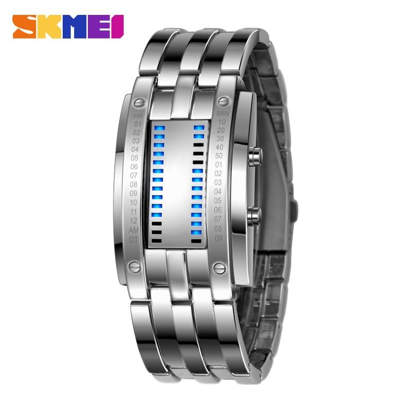 SKMEI Men Smart Watch Pedometer Calories Chronograph Fashion Digital Watches Chronograph 50M Waterproof Sports Wristwatches braun chronograph sports watch