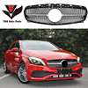 Mercedes W176 ABS Diamond Front Grill Grille For Benz 2013 2014 2015 A Class W176 A180