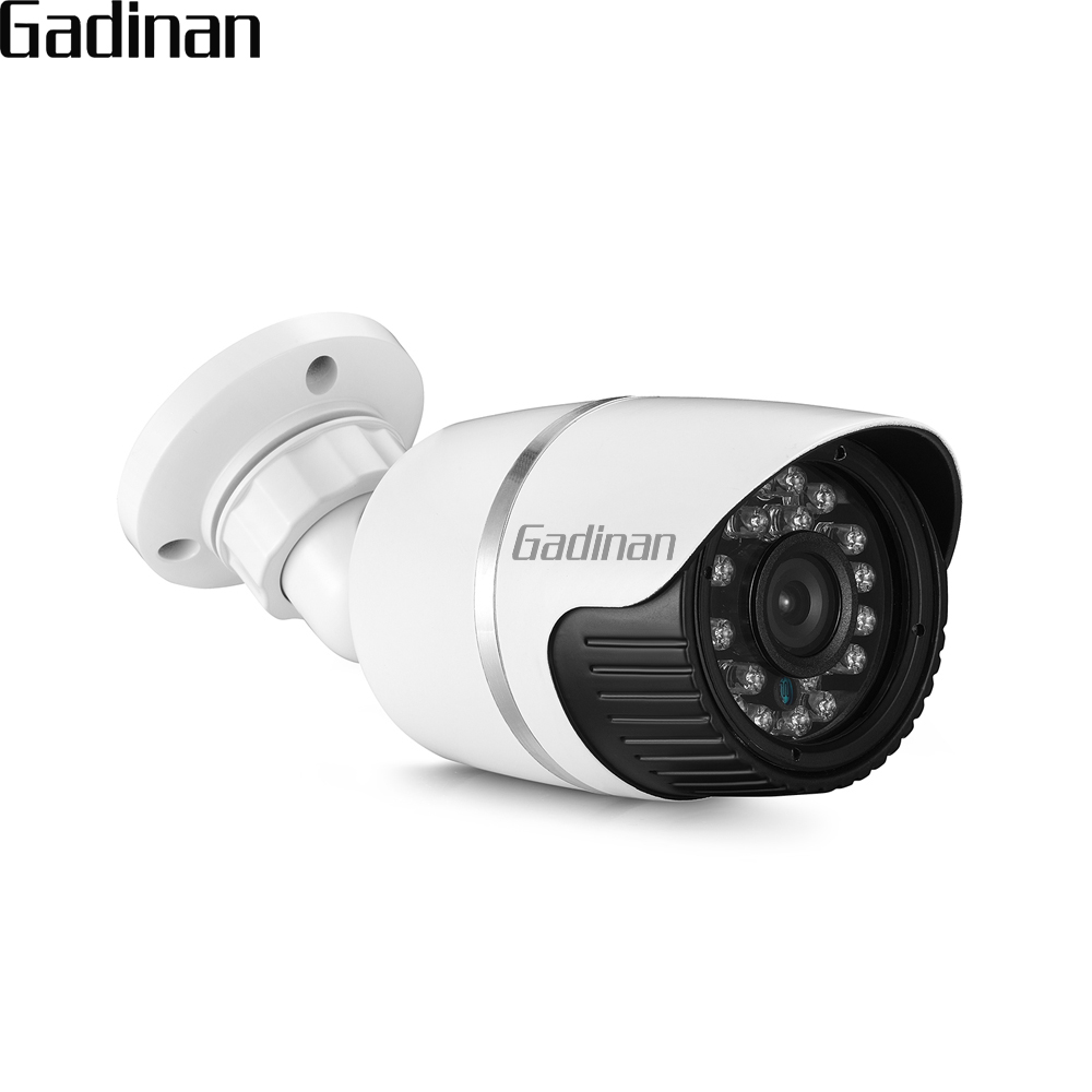 GADINAN AHD 2MP 1080P Bullet Security Camera Weatherproof Metal Housing 3.6mm Lens IR Night Vision Outdoor Surveillance Cam social housing in glasgow volume 2