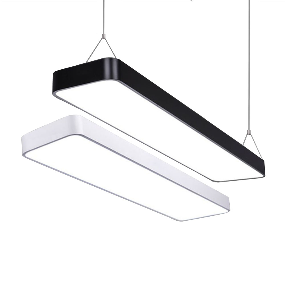 >LED Modern Ceiling Light Lamp dimmable Surface Mount Panel Rectangle Lighting Fixture Bedroom <font><b>Living</b></font> Room <font><b>office</b></font> light 110V 220V
