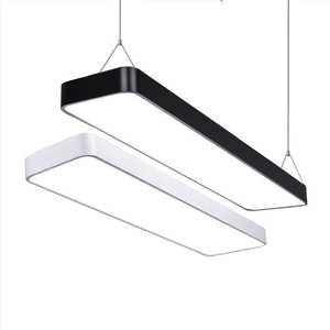 Image 1 - LED מודרני תקרת אור מנורת dimmable משטח הר פנל מלבן מתקן תאורת חדר שינה סלון משרד אור 110V 220V