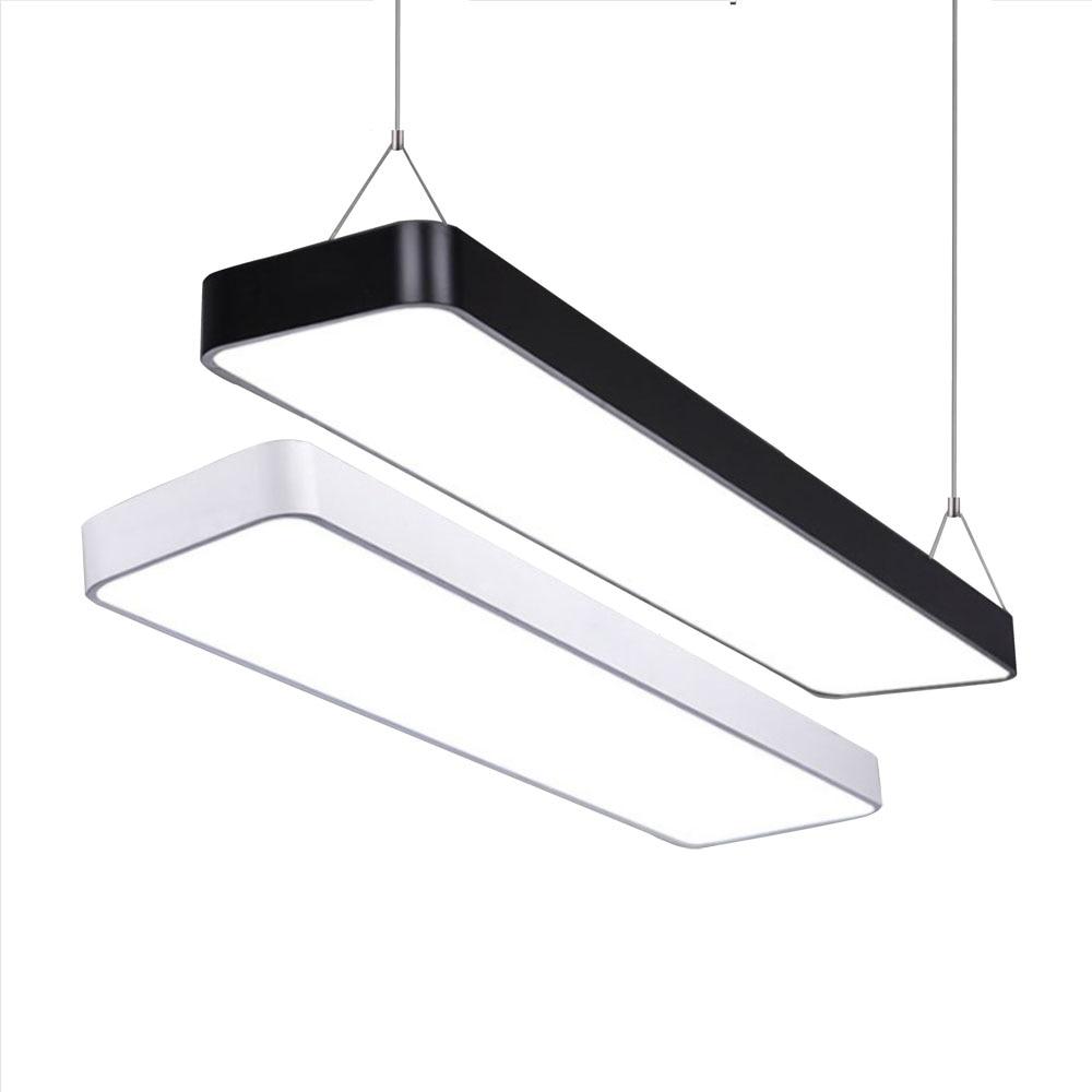 Lâmpada led moderna de teto, regulável, suporte superfície, painel, iluminação retangular, para quarto, sala de estar, escritório, 110v, 220v v v