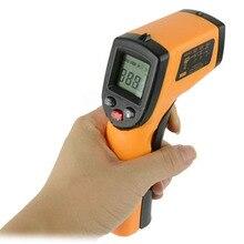 NUEVO Sin contacto Sin Contacto LCD DEL Laser IR Digital Termómetro Infrarrojo Pistola-M25