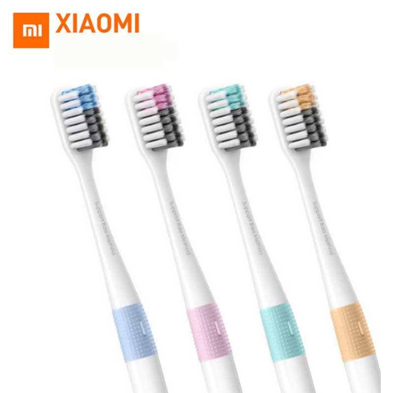 Xiaomi Mjia Doctor B Tooth Brush Bass Method Sandwish-bedded Newest version 4 Color Travel Toothbrush цена и фото