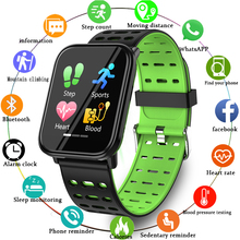 цена на Full Screen Touch Sport Smart Bracelet Heart Rate Monitor Blood Pressure Smart Wristband Pedometer Smart Band for Android IOS