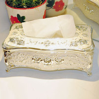 Beauty rimmon tissue box table napkin box lovely exhaust box household paper towel tube gifts