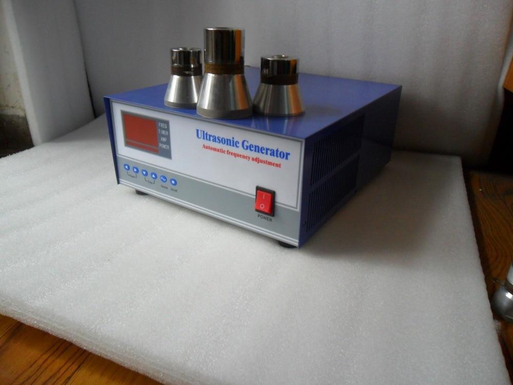 33khz/135khz 300W dual frequency ultrasonic generator,33khz/135khz ultrasonic Piezoelectric Generator