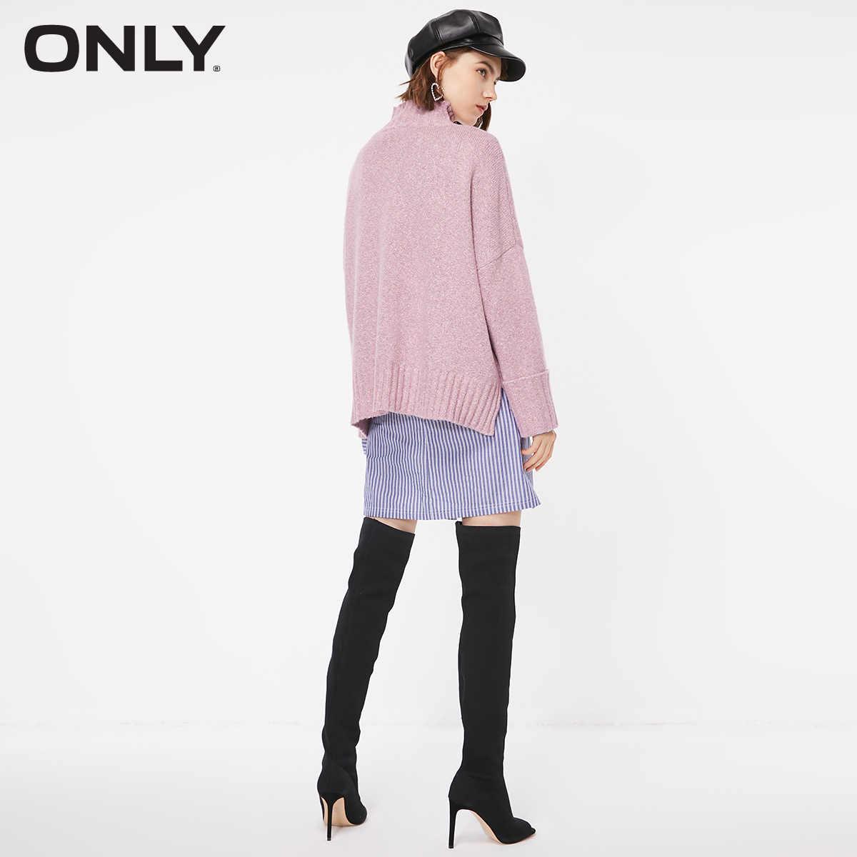 Только осень и зима новый высокий воротник теплый свитер женский | 118313521