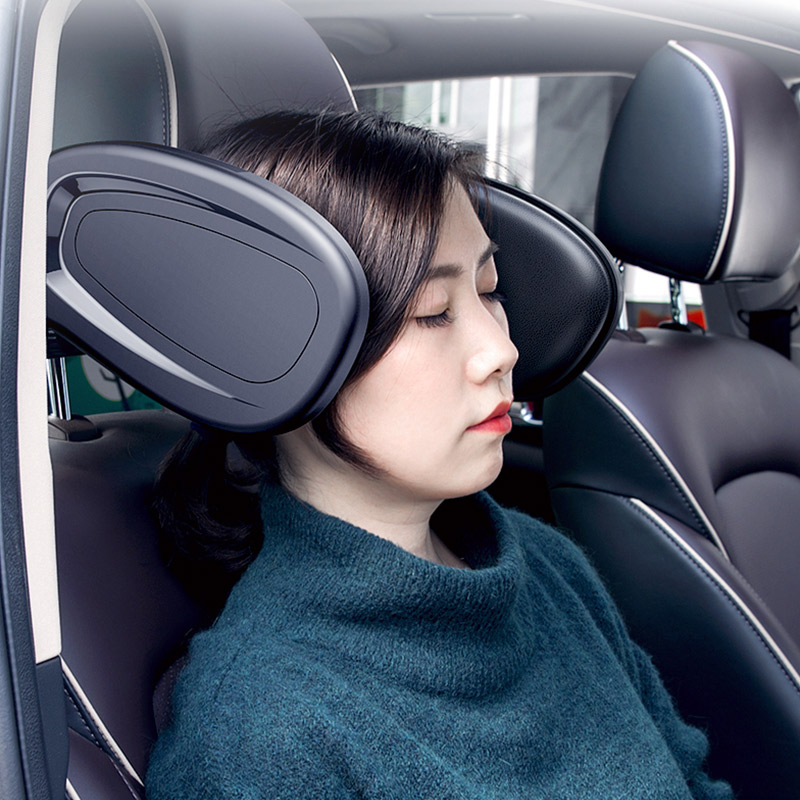 Car Seat Headrest Neck Pillow Rest Seat Headrest Cushion Pad Head Safety Protection For BMW F10