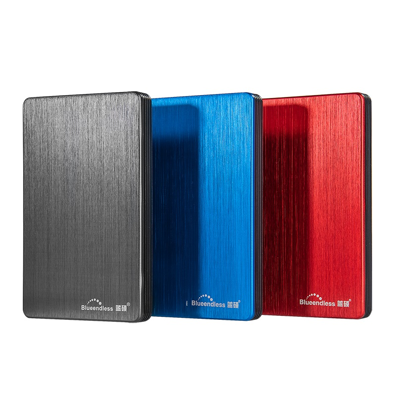 Blueendless USB 3.0 Portable External Hard Drive Disk HDD 2.5