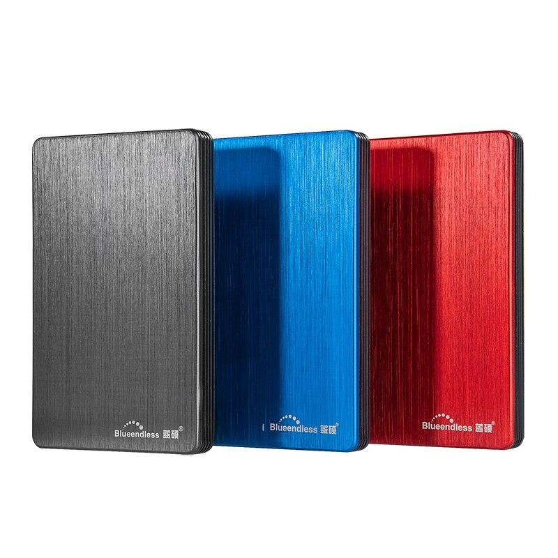Blueendless USB 3.0 Portable disque dur externe disque HDD 2.5 1 to 2 to 500 GB 320 GB externo disco disque dur pour ordinateur Portable de bureau