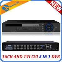 16CH Channel Standalone Surveillance Video Recorder 3 IN 1 Security DVR HVR 1TB