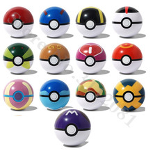 7cm 13pcs/lot Pokeball Masterball Complete Collections Ball Toy Action Figure Toys For Children XD273
