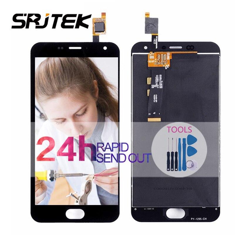 Srjtek For Meizu M2 Mini For Meilan M2 Mini LCD Display Touch Screen Digitizer Assembly/Frame 5.0'' For M 2 Mini