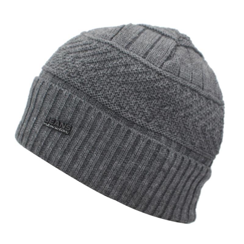 YOUBOME Skullies Beanies Winter Hats For Men Beany Knitted Hat Women Male Gorras Warm Soft Neck Balaclava Bonnet Beanie Hat Cap 2