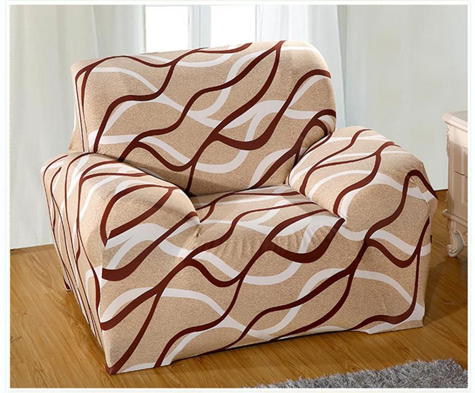 Modern Striped Sofa Slipcovers Tight Wrap All Inclusive