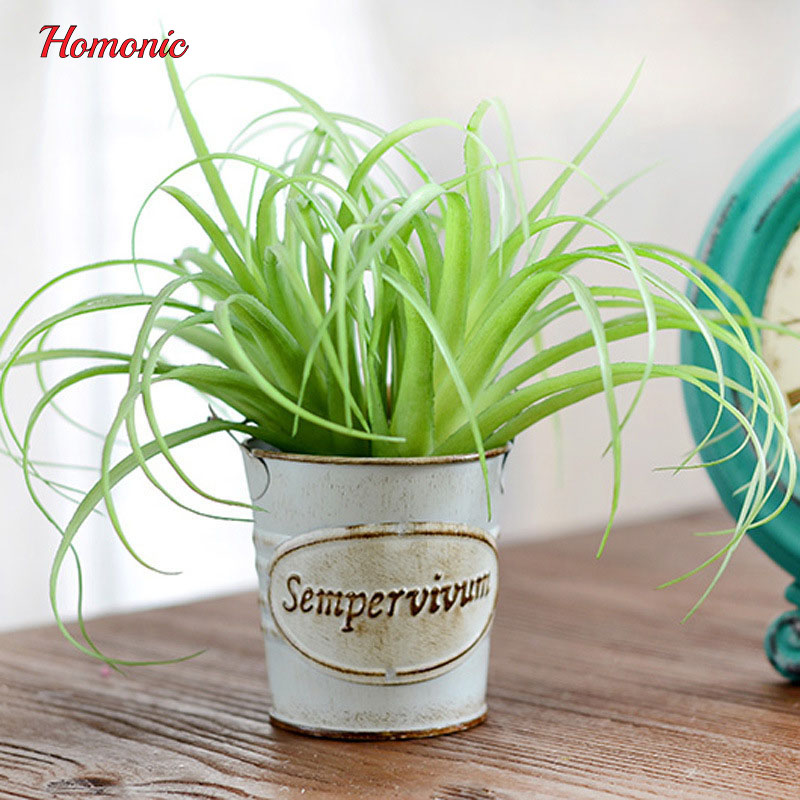 Medium succulents decorative simulation plant Flower arranging accessories artificial plante succulente artificielle for garden