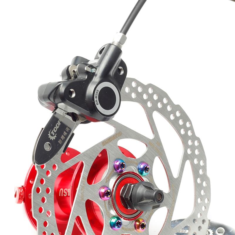 Parts Antifriction Brake Pads Spacer MTB Disc  Bike Repair Kit Rotor Alignment