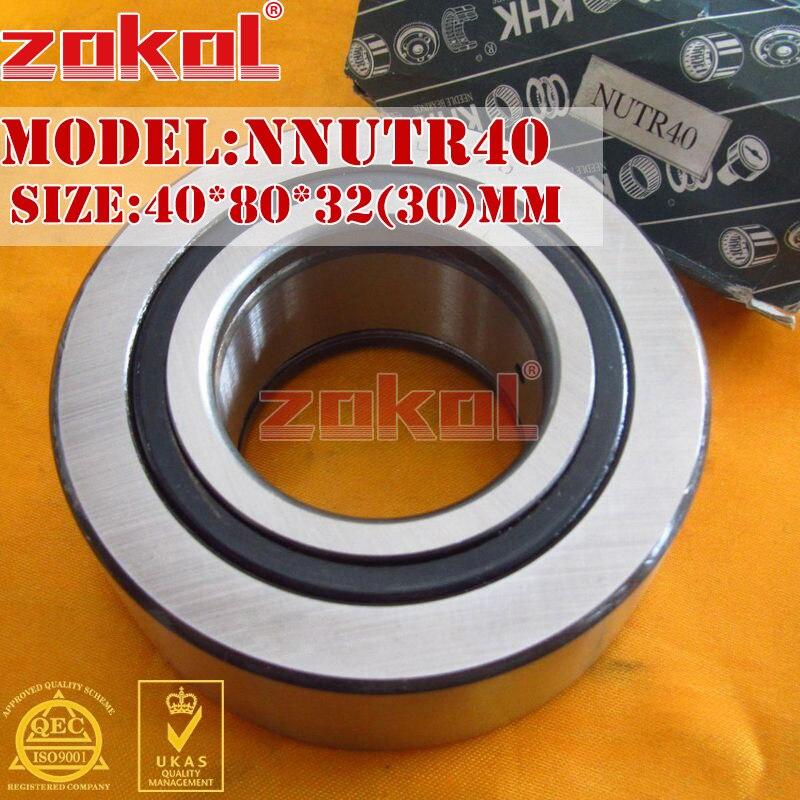 ZOKOL bearing NUTR40 Roller Cam Follower Bearing 40*80*32(30)mm a new mglctp 90894 9 6for cube u63 gt u63 cube u63gt touch screen digitizer glass touch panel 224x158mm