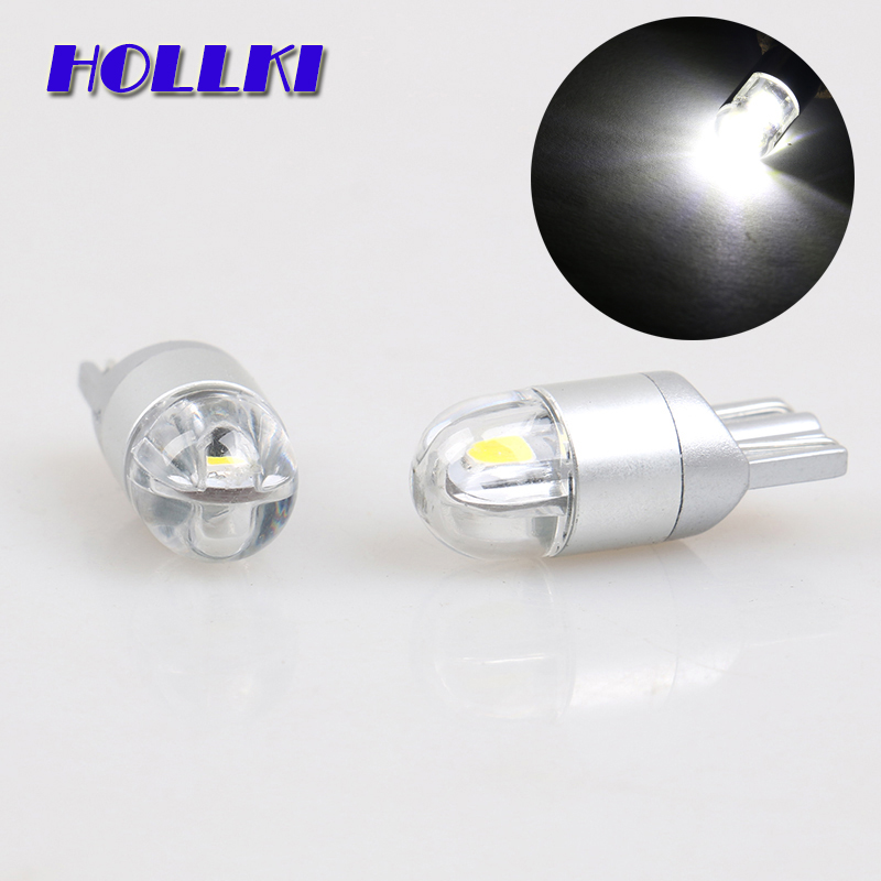 2PCS High Quality T10 W5W 3030 LED Car Interior Light Marker Lamp 168 WY5W SMD LED Auto Wedge Bulbs White Red Blue Yellow 12V high quality 1x t10 9smd 5050 canbus 9 smd dc 12v error free 9led 194 168 192 w5w car led light interior bulbs wedge lamp white