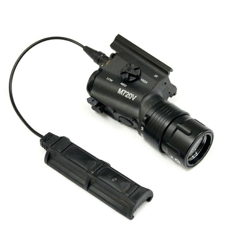 CQC Airsoft Tactical M720V Olheiro LEVOU Luz
