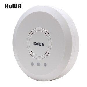 Image 3 - Kuwfi 300 Mbps Trong Nhà Treo máy Chiếu Không Dây Điểm Truy Cập Hệ Thống Điều Khiển Không Dây Router Dài Bảo Hiểm Cho Khách Sạn/Trường
