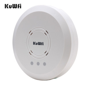 Image 3 - Kuwfi 300Mbps Indoor Ceiling Mount Wireless Access Point Controller System Wireless Router Long Coverage For Hotel/School