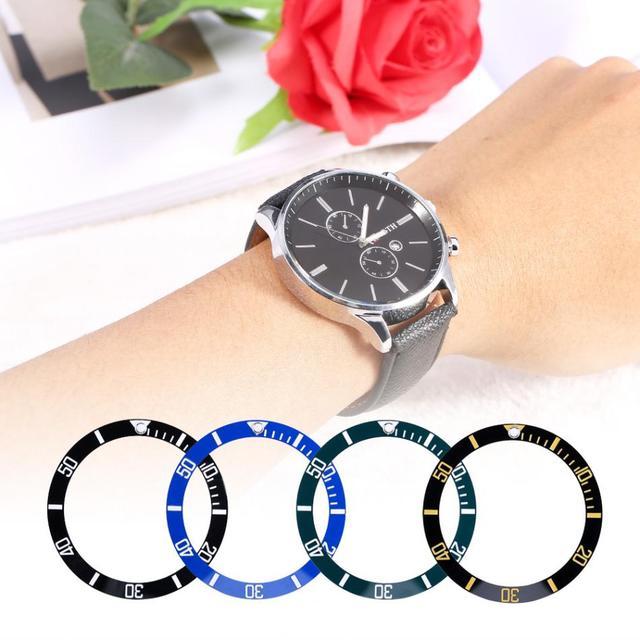 38*30.6mm High Hardness Ceramic Watch Bezel 4 Colors Choice New Lightweight Watc