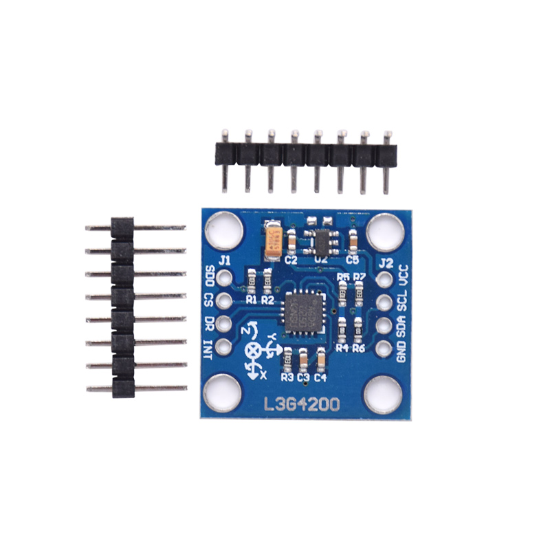 GY-50 L3G4200D Triple Axis Gyro Angular Velocity Sensor Module IIC / SPI Communication Protocol