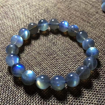 Bracelet Labradorite Bleue