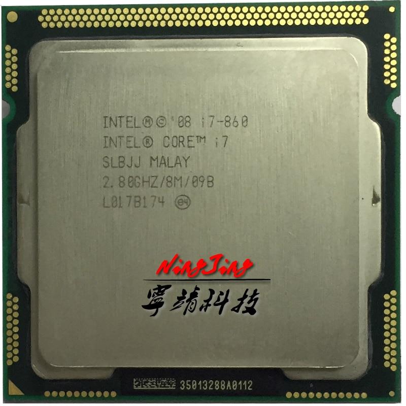 Intel Core i7 860 i7 860 2 8 GHz Quad Core CPU Processor 8M 95W LGA