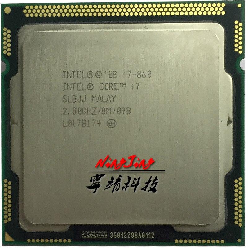 インテル Core i7 860 i7 860 2.8 Ghz のクアッドコア CPU プロセッサ 8 メートル 95 ワット LGA 1156 に連絡販売 i7 870  グループ上の パソコン & オフィス からの CPU の中 1