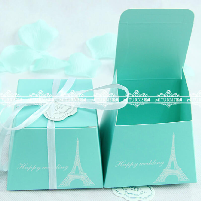01c657ddd03 2015 Wholdsale Wedding Favors Large Tiffany Blue Candy Box Gift Boxes  cupcake Boxes ,Free Shipping !! on Aliexpress.com | Alibaba Group