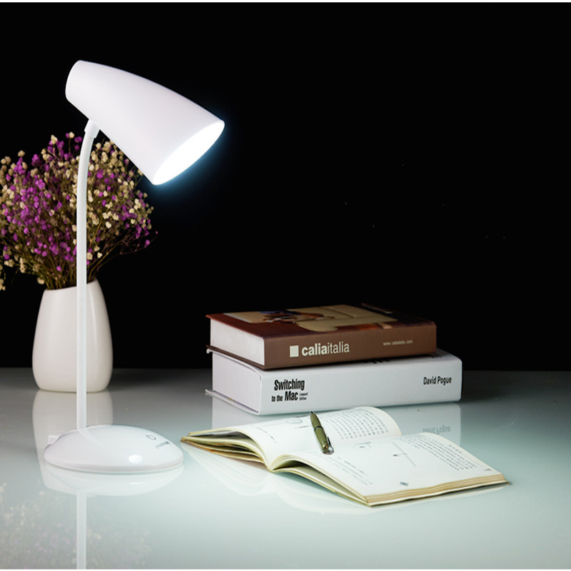 LED charging rechargeable desk lamp USB Dimming lights bedroom student dormitory reading light Indoor lighting creative hose led desk lamps usb charger dimming lights reading desk lamps bedroom dormitory night light indoor lighting